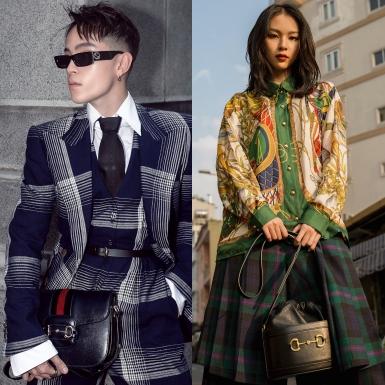 Fashionista Việt đồng loạt lên đồ xuống phố cực chất với túi xách Gucci 1955 Horsebit sang chảnh