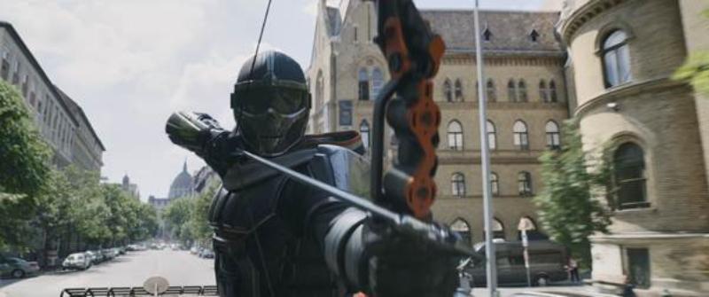 goa phụ đen đối đầu Taskmaster