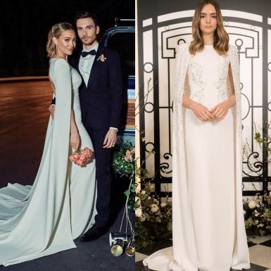 Cô dâu Hilary Duff chọn mặc váy cưới đơn giản làm đẹp lòng chú rể Matthew Koma