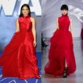 Nữ diễn viên gốc Việt Kelly Marie Trần nổi bật trên thảm đỏ trong thiết kế của PHUONG MY