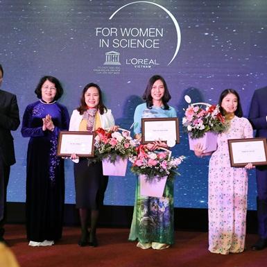 L'Oréal vinh danh các nhà khoa học nữ Việt Nam nổi bật