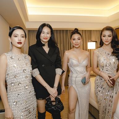 Dàn mỹ nhân Việt hội tụ trong không gian sang trọng của khách sạn 5 sao đẳng cấp