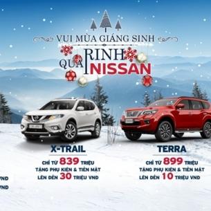 Nissan Việt Nam triển khai chương trình ưu đãi đặc biệt cuối năm 2019