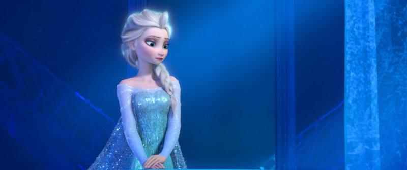 nữ hoàng băng giá 2 - mái tóc bạch kim của elsa