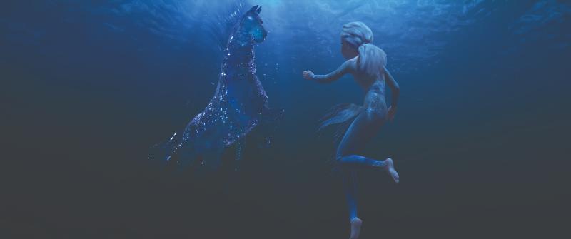 nữ hoàng bang giá 2 - tinh linh ngựa nước