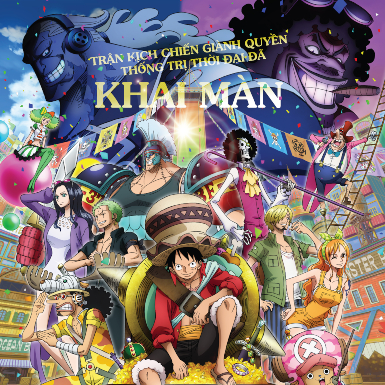 """""""One Piece Stampede"""": Khai màn trận chiến nảy lửa, hoành tráng nhất lịch sử """"One Piece"""""""