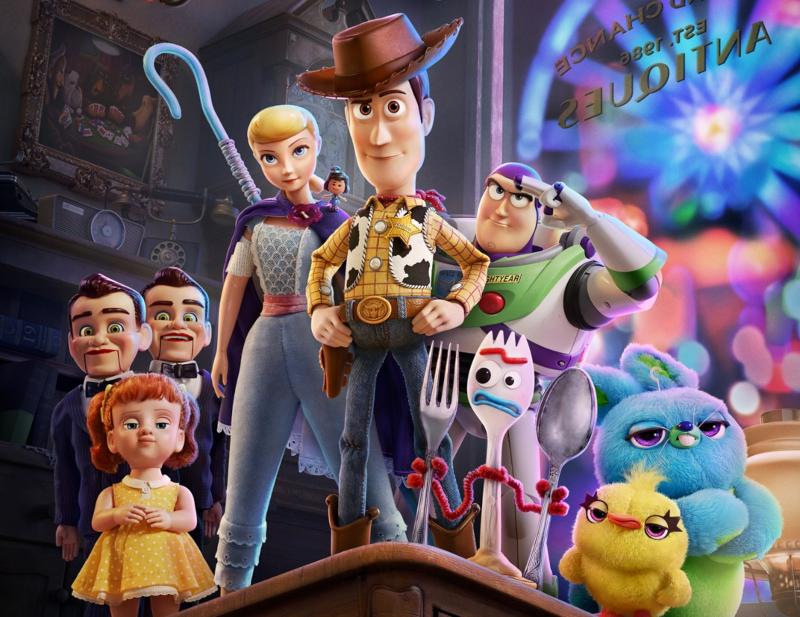 phim điện ảnh toy story 4