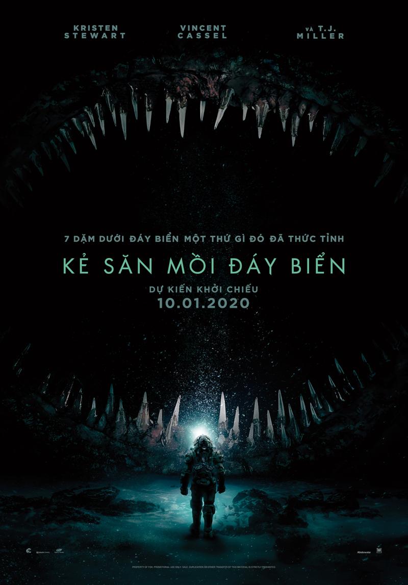 phim kẻ săn mồi đáy biển poster