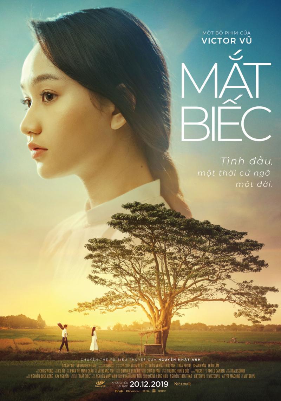 poster chính thức bộ phim mắt biếc