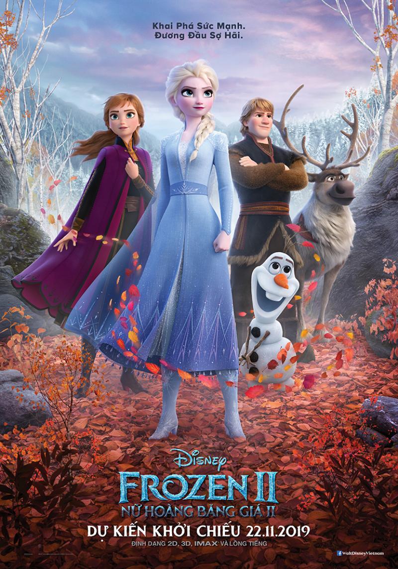 poster chính thức của phim nữ hoàng băng giá 2