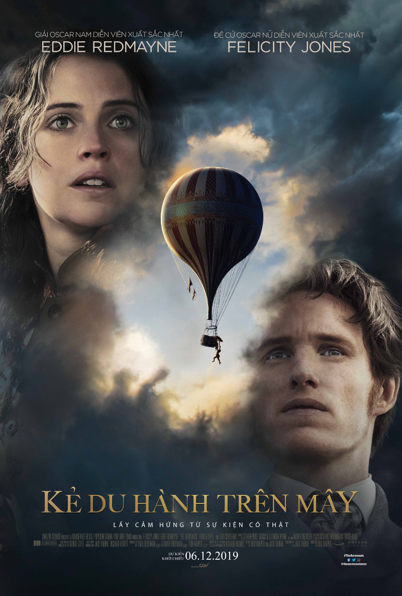 poster chính thức phim kẻ du hành trên không