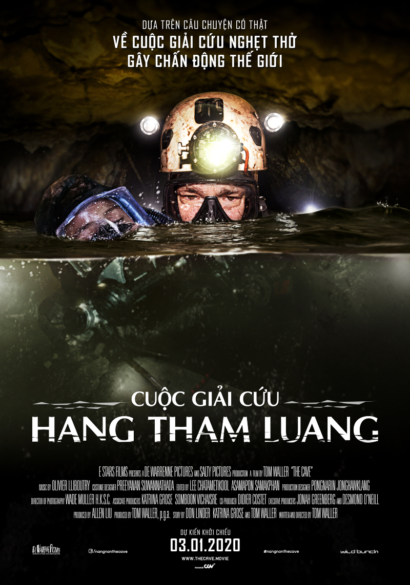 poster phim cuộc giải cứu hang tham luang