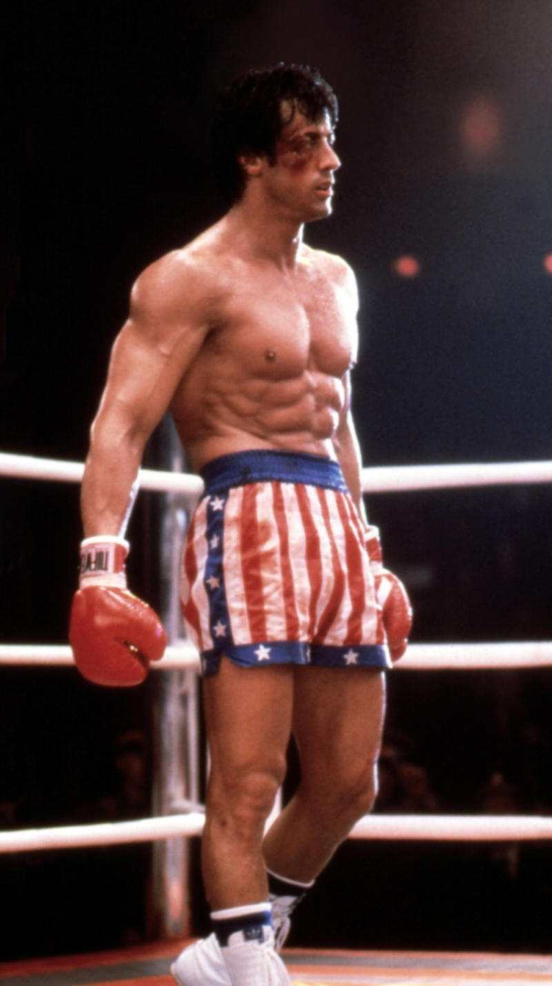 sylvester stallone trong phim rocky