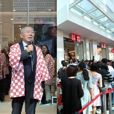Tỷ phú Nhật Bản Tadashi Yanai đến Việt Nam nhân sự kiện khai trương cửa hàng UNIQLO Đồng Khởi
