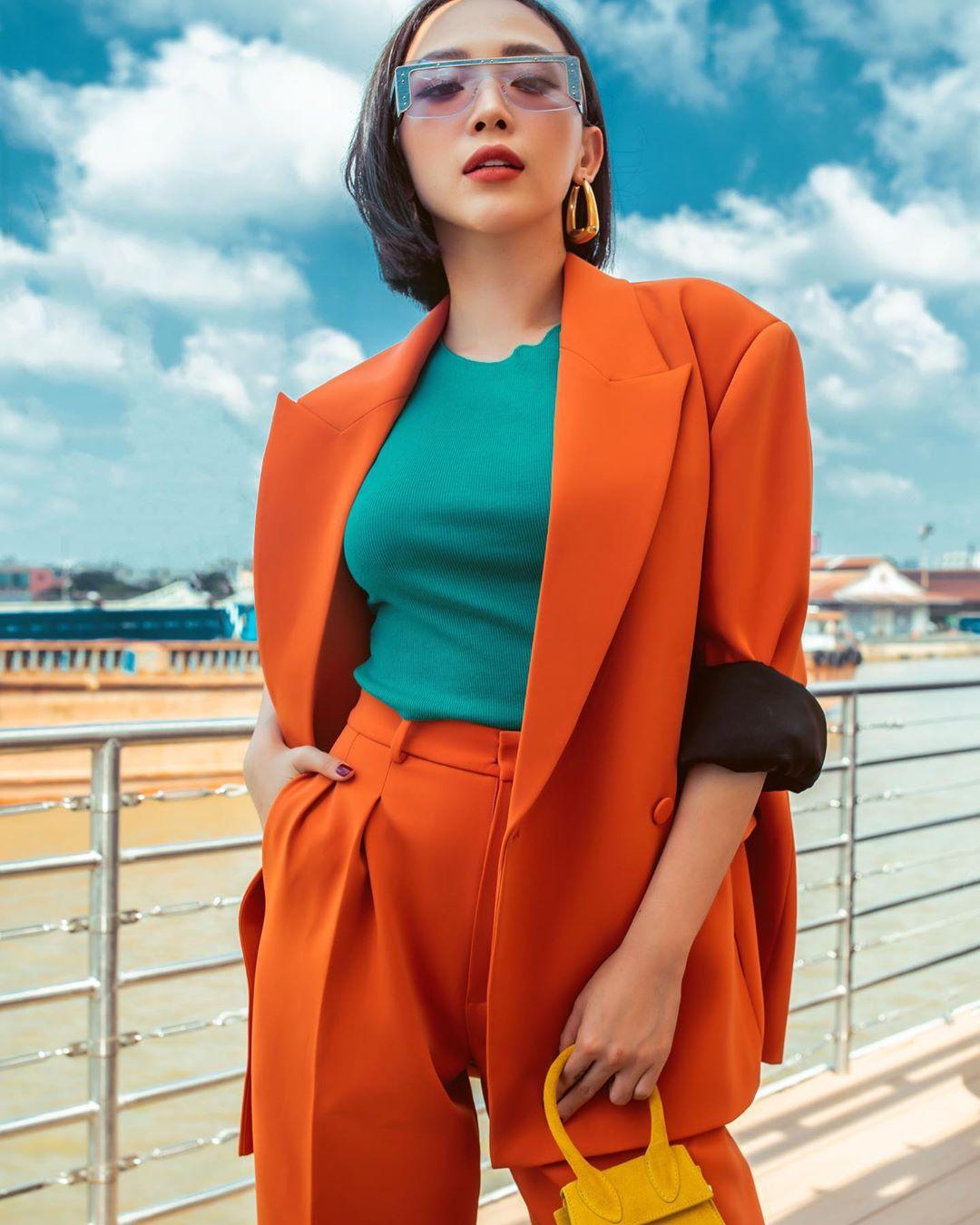 xu hướng thời trang 2019 - tóc tiên