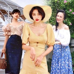 """Mỹ nhân Việt """"đập tan"""" nắng hè với street style ngập tràn item quyến rũ"""
