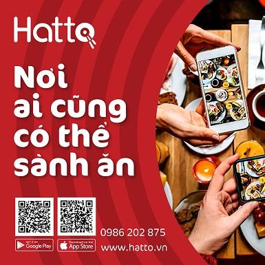 Ra mắt MXH ẩm thực Hatto: Kết nối cộng đồng đam mê ẩm thực trên nền tảng AI