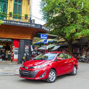 Toyota Vios 2020 thêm tiện ích và an toàn, giá bán giảm