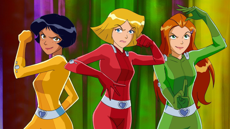 birds of grey - totally spies 1