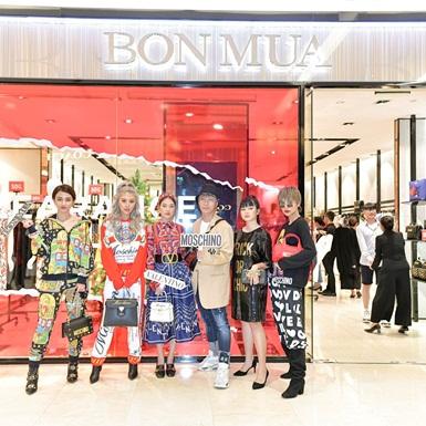 Quỳnh Anh Shyn, Duy Khánh, Linh Chi The Face nô nức mua sắm tại sự kiện Bonmua Clearance Sale