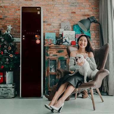 Khám phá LG Styler: Bên trong tủ là tình yêu