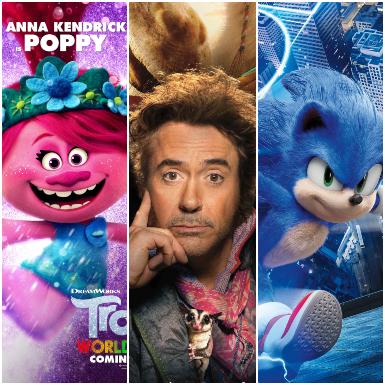 5 bộ phim bom tấn dành cho gia đình năm 2020