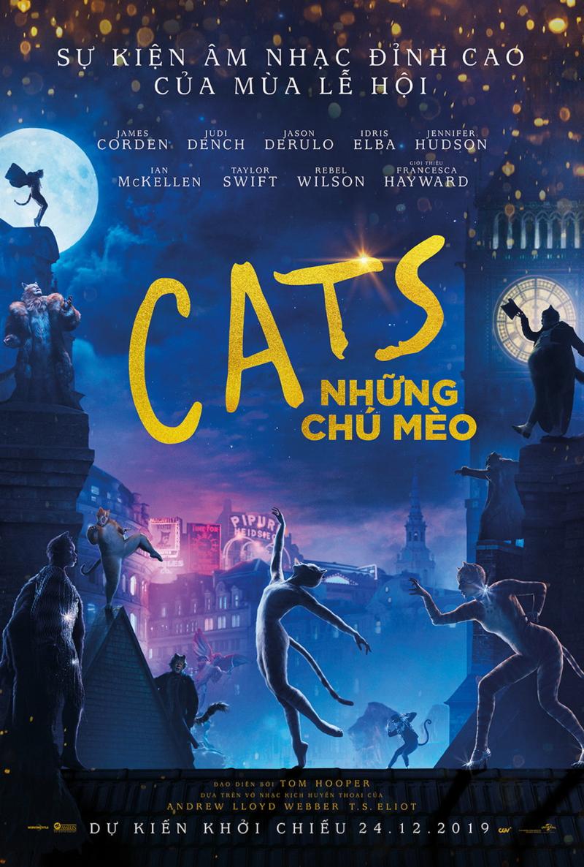 poster phim cats những chú mèo