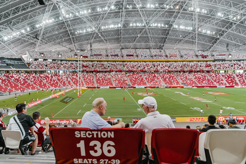 singapore - hsbc rugby sevens