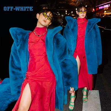 Châu Bùi khí chất ngút trời trên hàng ghế đầu show của Off-White