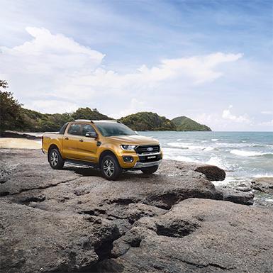 Ford nâng cấp Ranger và Everest mới, thêm bản Ranger Limited 2020