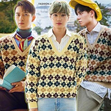 """Kai (EXO) """"đụng hàng"""" áo Gucci với Lý Hiện, Hồ Nhất Thiên và dàn mỹ nam Hoa Ngữ"""