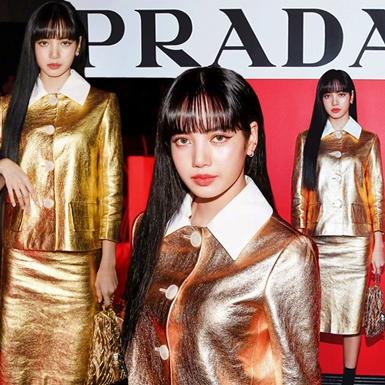 Lisa (BLACKPINK) chiếm trọn spotlight tại show diễn của Prada