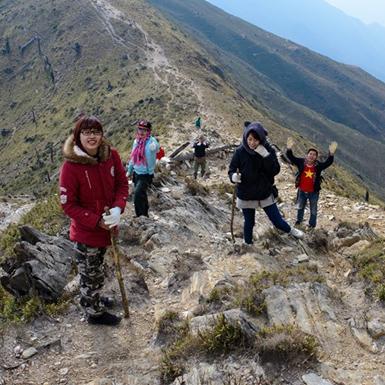 Những bữa ăn đặc biệt trên đường leo núi của dân 'trekking'