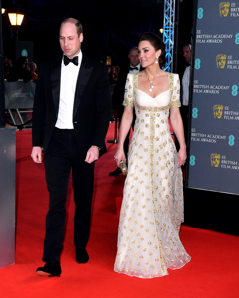 baftas 2020 - kate middleton
