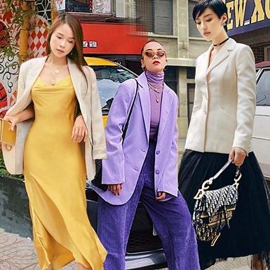 Blazer phủ sóng street style của dàn sao Việt những ngày giao mùa