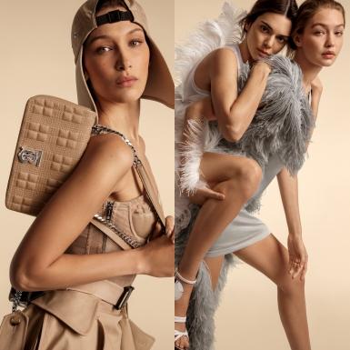 """Chị em Gigi và Bella Hadid """"tái ngộ"""" Kendall Jenner trong chiến dịch Xuân Hè 2020 của Burberry"""