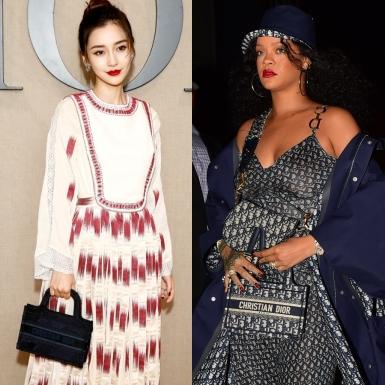 """Dior Mini Book Tote – chiếc túi """"đánh cắp"""" trái tim của Rihanna, Angelababy"""