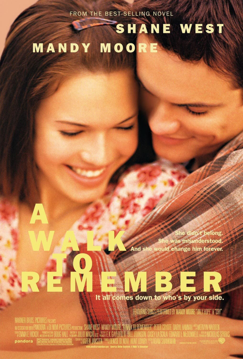 phim lễ tình nhân - a walk to remember