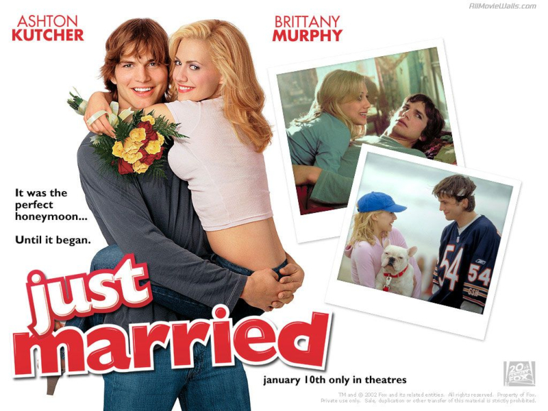 phim lễ tình nhân - just married