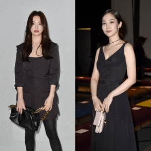 """Song Hye Kyo & Park Min Young nổi bật với những phối đồ ấn tượng khi """"đổ bộ"""" Tuần lễ Thời trang Milan"""