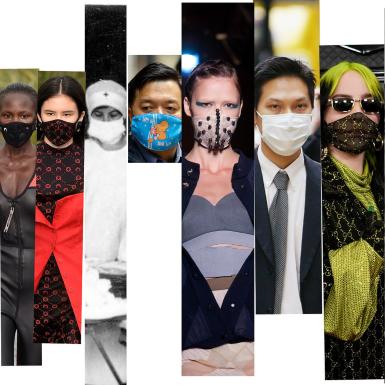 Hiệp hội Thời Trang Anh kêu gọi các hãng thời trang cùng sản xuất khẩu trang kháng khuẩn