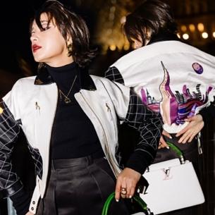 Châu Bùi mix đồ thời thượng dự show Thu Đông 2020 của Louis Vuitton