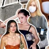 Chi Pu, Ngọc Trinh mê mẩn chiếc túi lấp lánh giống Kendall Jenner và Rosé (BLACKPINK)
