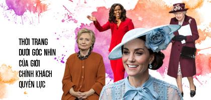 Thời trang dưới góc nhìn của giới chính khách quyền lực