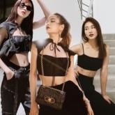Hoàng Thùy Linh, Ninh Dương Lan Ngọc và dàn sao Việt mix đồ đen sang chảnh tuần qua