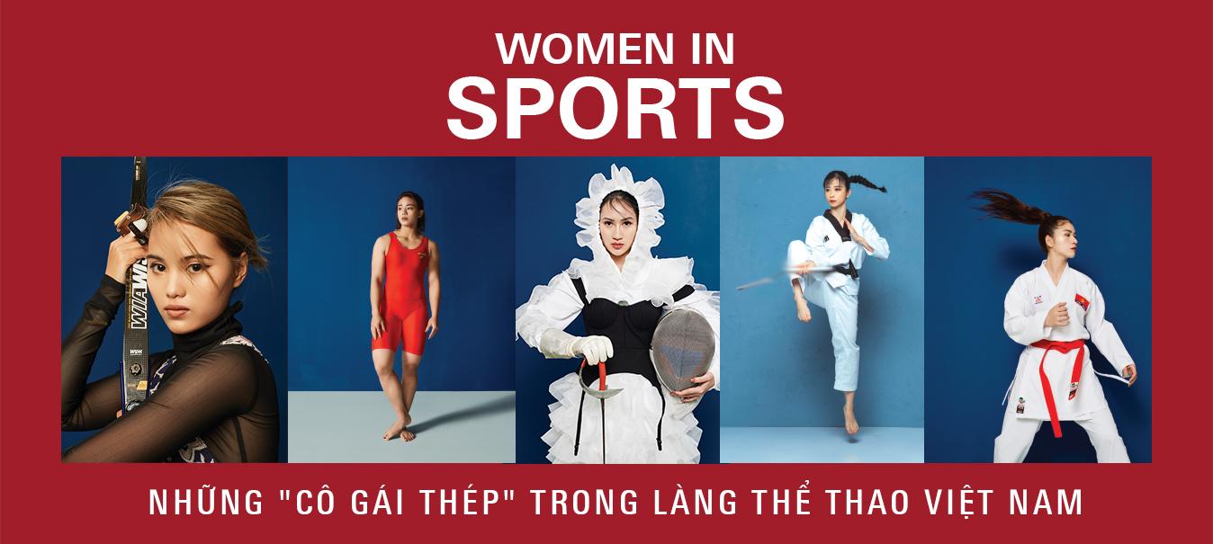 Women In Sports - Những cô gái thép trong làng thể thao Việt Nam