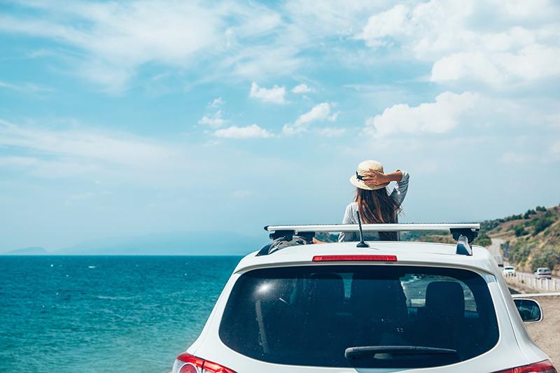 Kết quả hình ảnh cho du lịch với cửa sổ trời ô tô