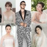 """Những màn """"phù phép"""" của chuyên gia trang điểm Tee Le cho dàn cô dâu đình đám V-biz"""