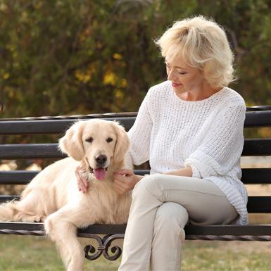Những con vật nuôi giúp giảm tỷ lệ tự tử ở người cao tuổi