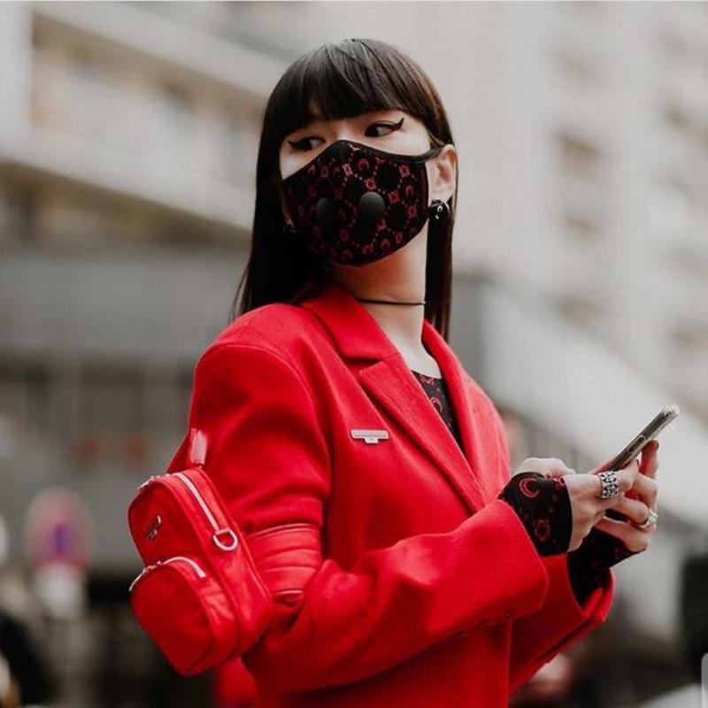 tuần lễ thời trang paris - mặt nạ - 5